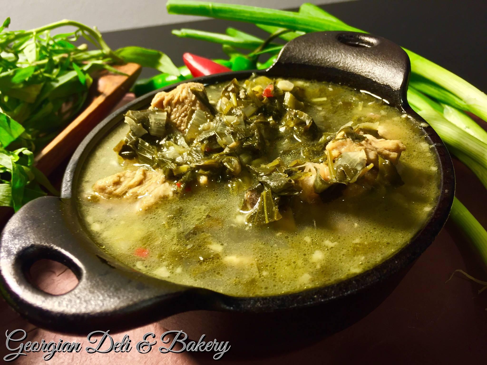 Chakapuli (Tarragon Veal Stew)